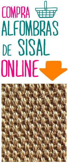 alfombras de sisal
