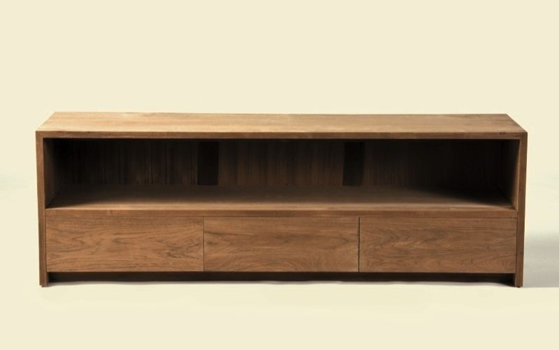 Muebles tv madera for Muebles modulares madera