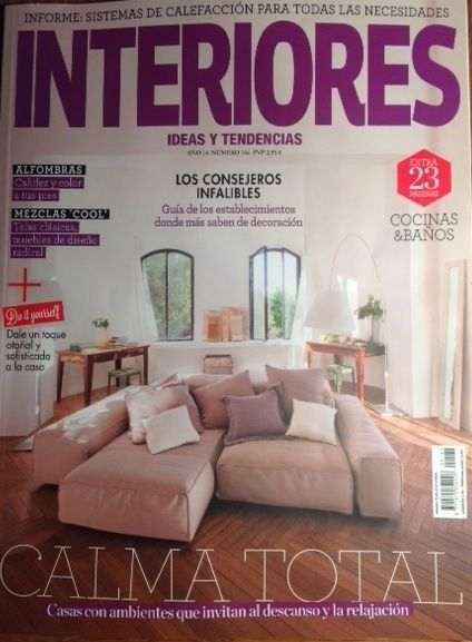 Elegidos por la revista interiores for Revistas decoracion interiores