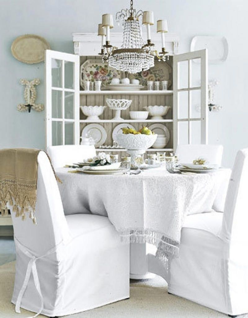 Como decorar un comedor shabby chic for Muebles maison decor